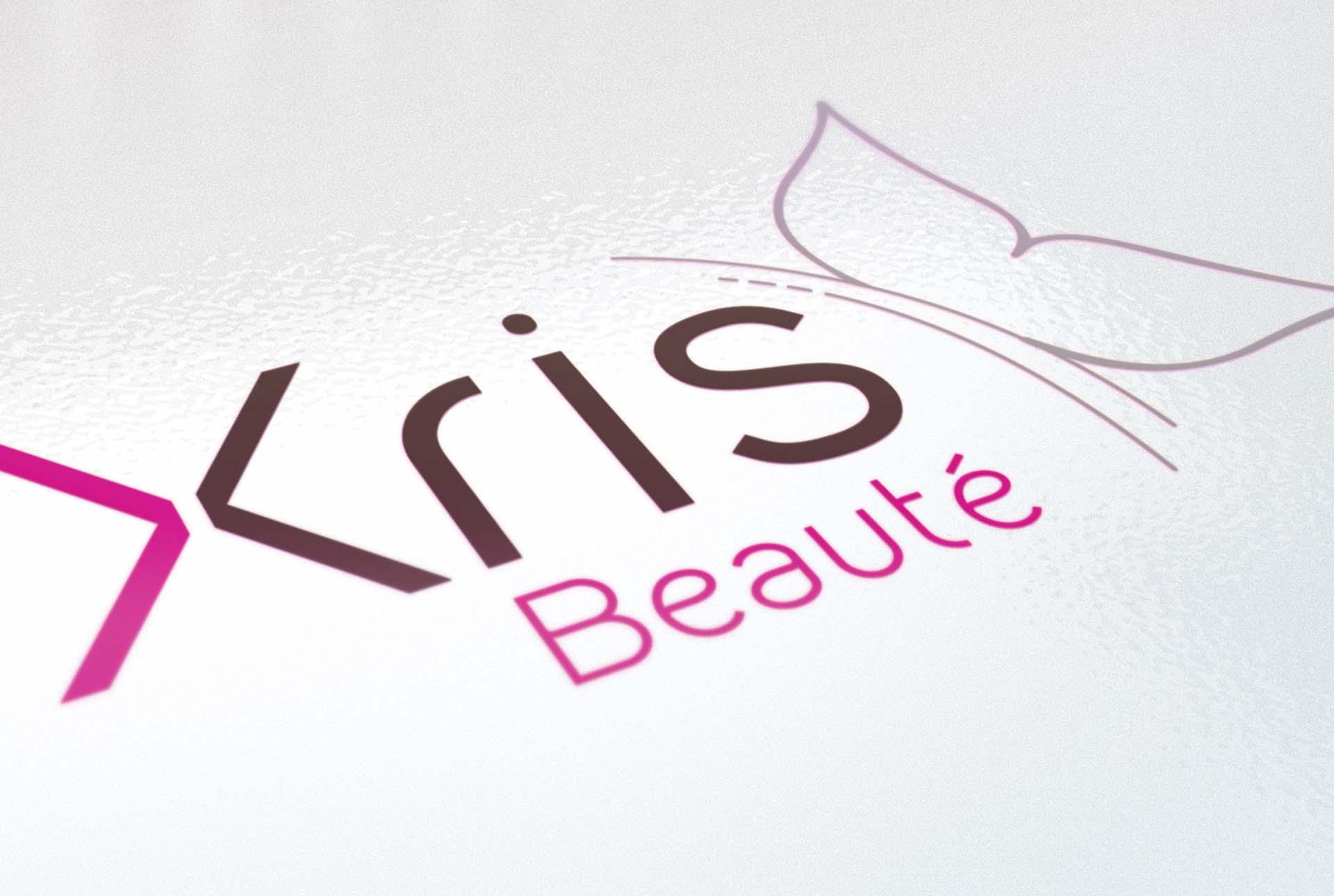 XRIS creation logo estheticienne graphiste grenoble