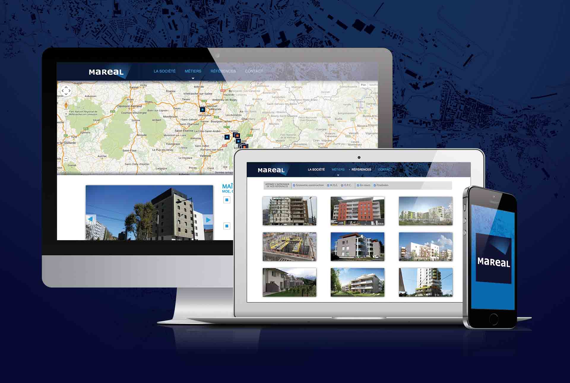 mareal creation site web grenoble