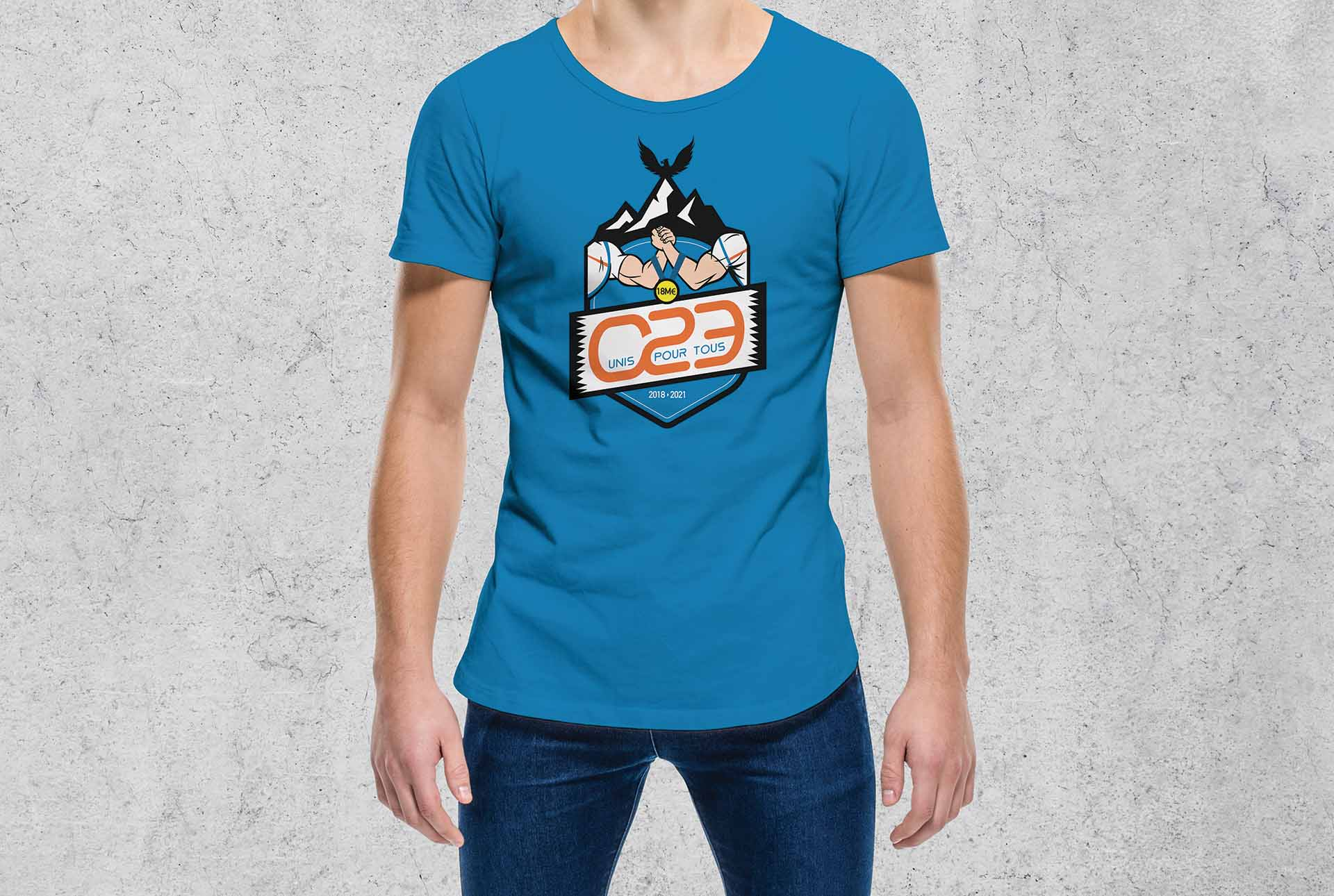 decathlon creation tee shirt graphiste grenoble