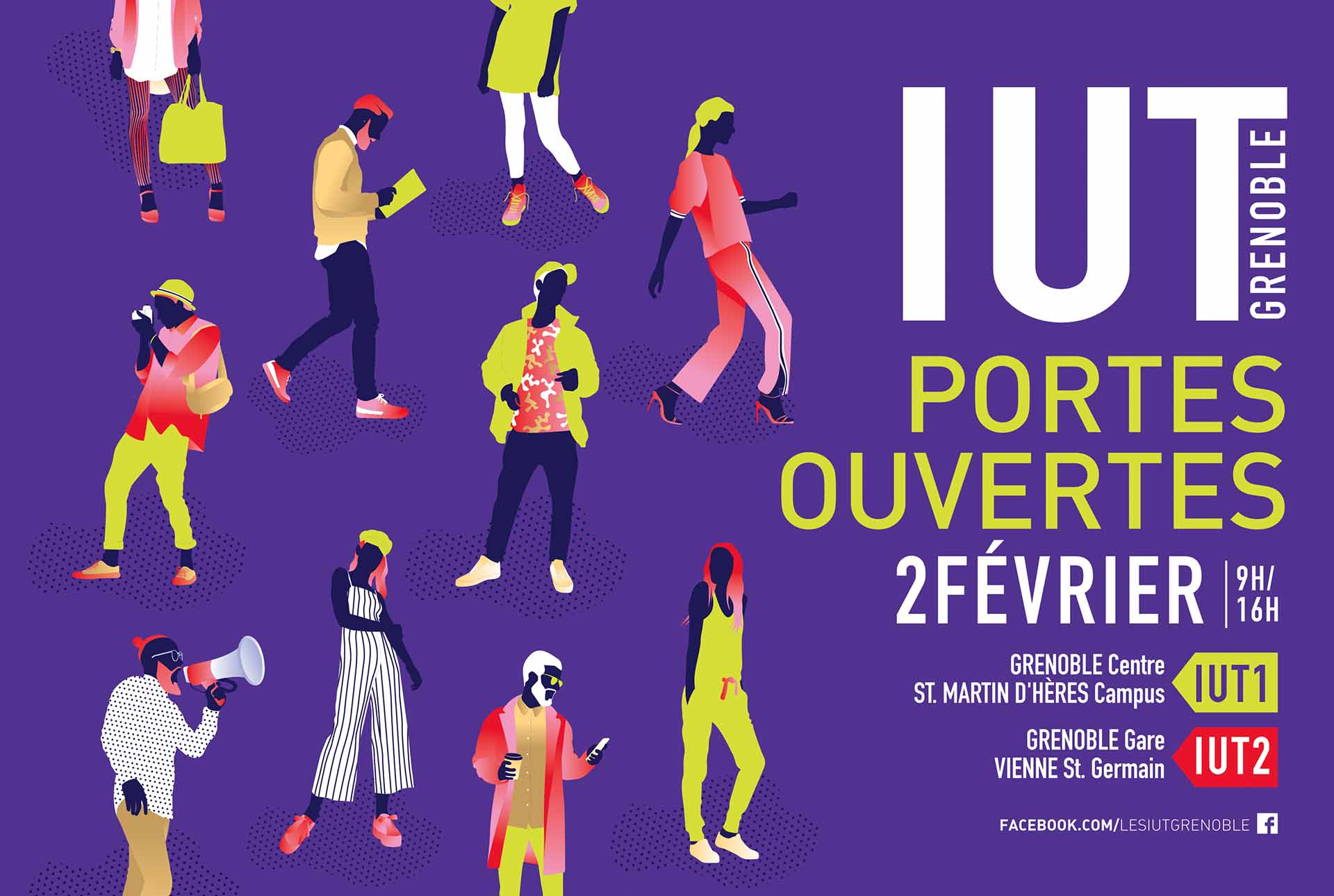 JPO creation flyer graphiste grenoble